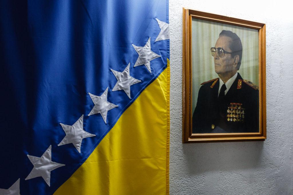 Retrato Tito Bosnia