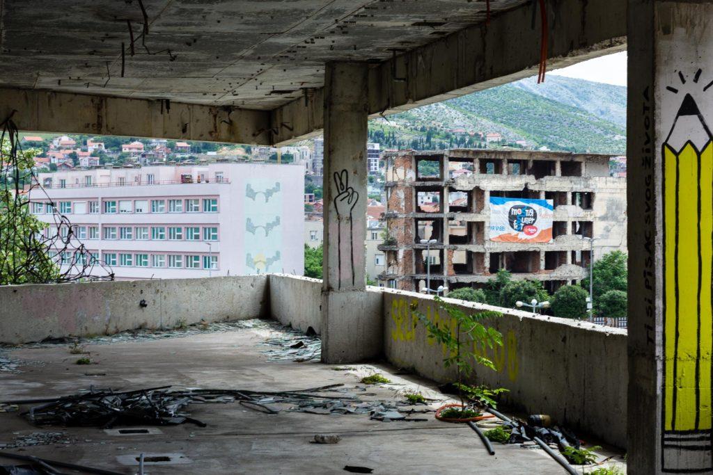 Mostar Ruinas Guerra