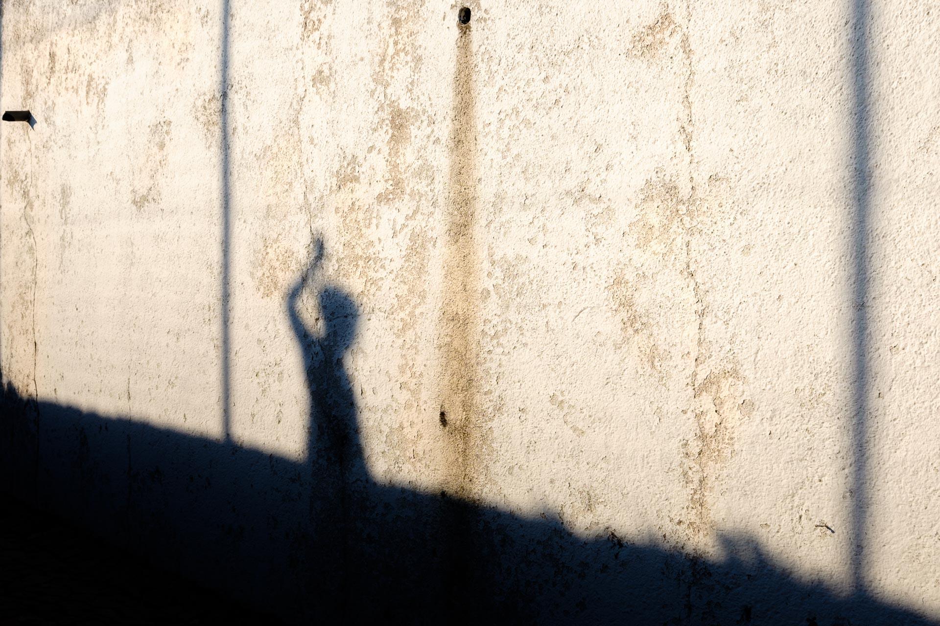 Retrato Sombra Atardecer Alentejo