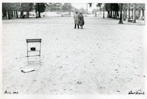 Fotografía de Robert Frank en París