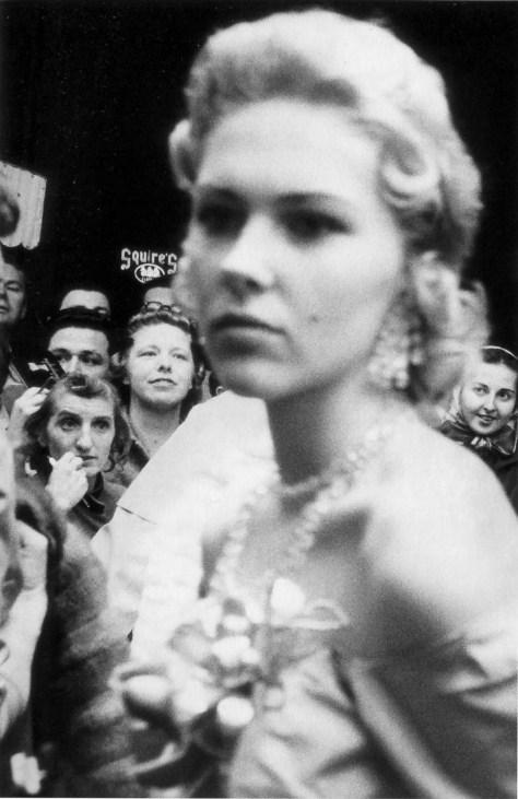 Una imagen de una ceremonia en Hollywood del fotógrafo Robert Frank.