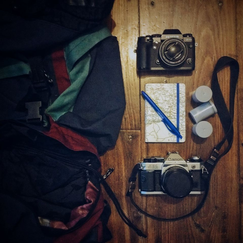 Mi equipo de fotografía y viajes