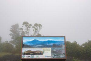 Vistas con niebla del volcan pacaya. En fotografía y viajes por mucho que planifiques las cosas a veces no salen como esperas
