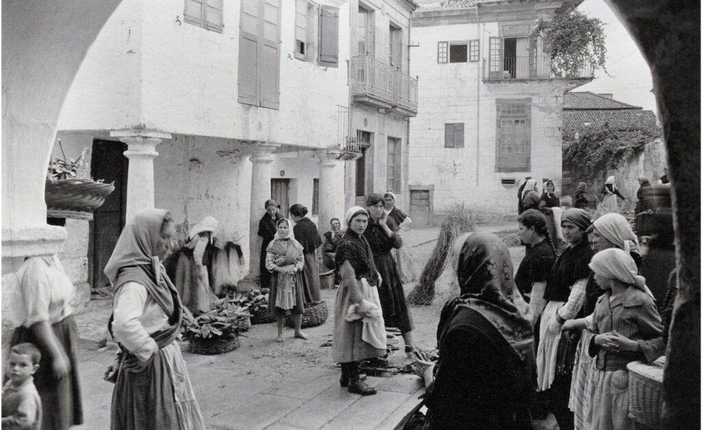 Fotografía de viajes de Ruth Matilda Anderson recorriendo Galicia
