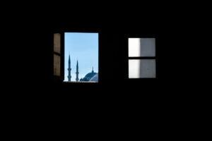 Mezquita Azul vista desde Santa Sofía