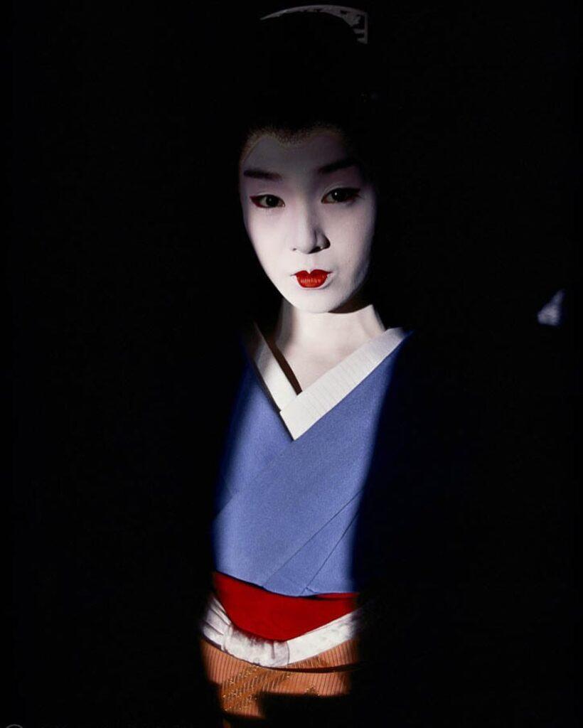 Fotografía geisha Jodi Cob
