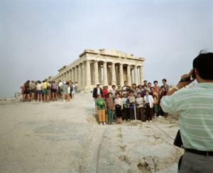 Turistas. Acrópolis. Martin Parr.