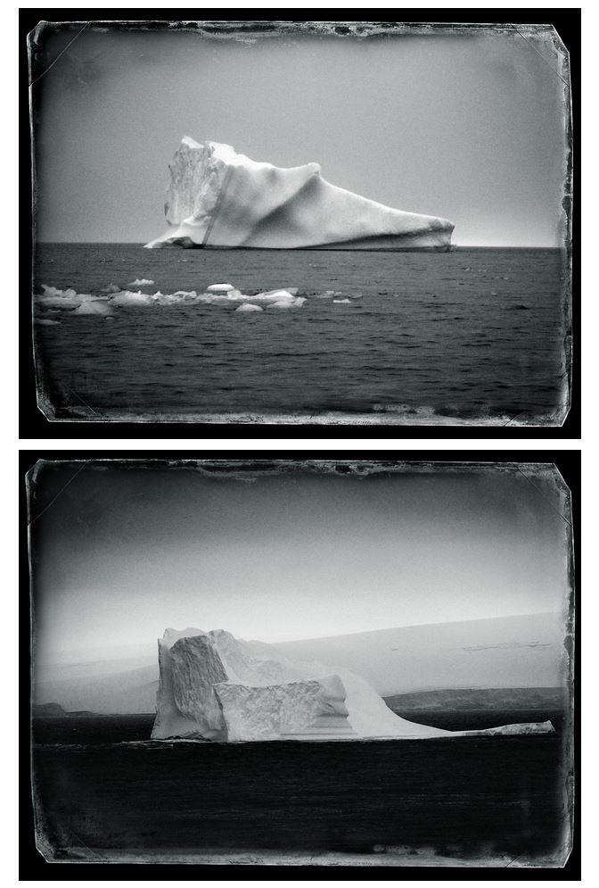 Fotografía de icebergs Volverás a la Antártida.